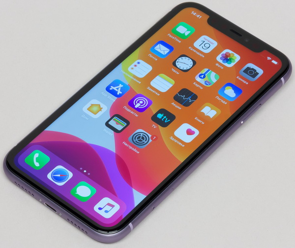 Дизайн iPhone 11 - вид спереди
