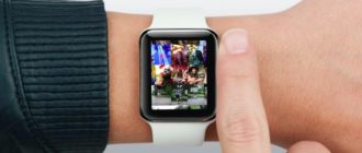 Просмотр фото на Apple Watch