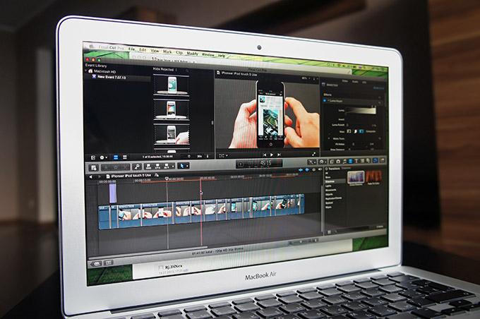 Обзор видеоредакторов для MacBook