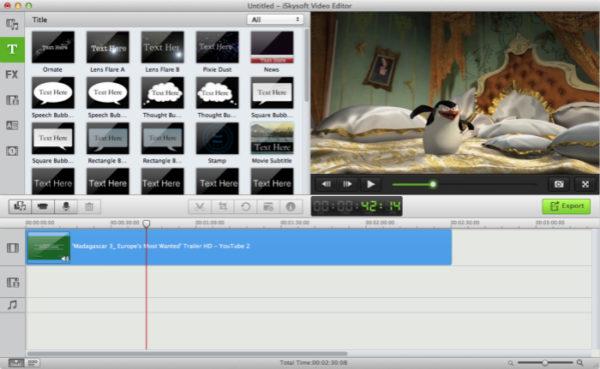 Видеоредактор Avidemux для MacBook