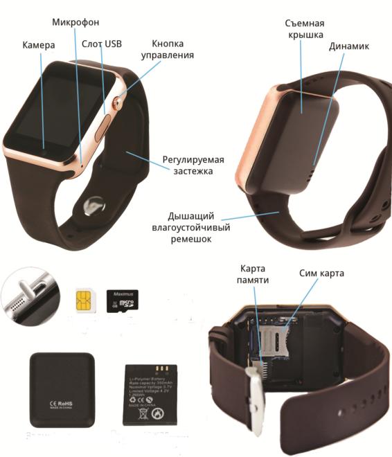 Устройство Smart Watch A1