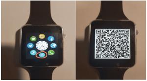 QR-код Smart Watch A1