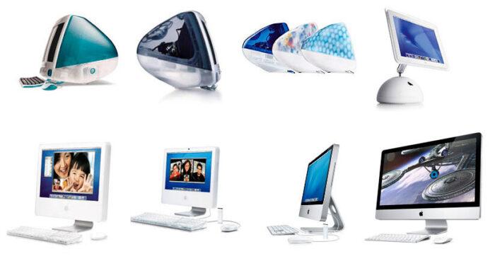Эволюция iMac