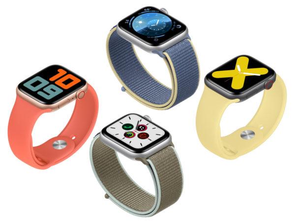 Расцветки Apple Watch