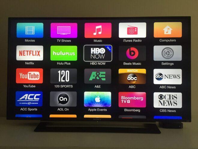 Приложения для Apple TV4