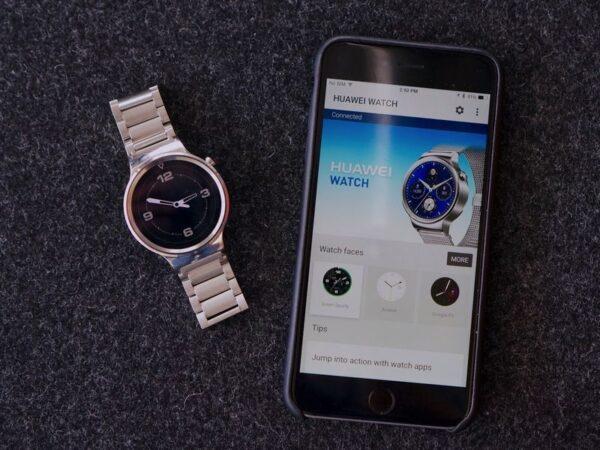 Сопряжение Huawei Watch с iPhone