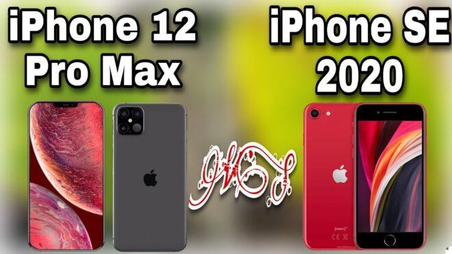 Сравнение iPhone SE 2 c iPhone 12 и iPhone 12 Pro