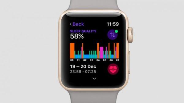 Функция «Контроль сна» в Apple Watch