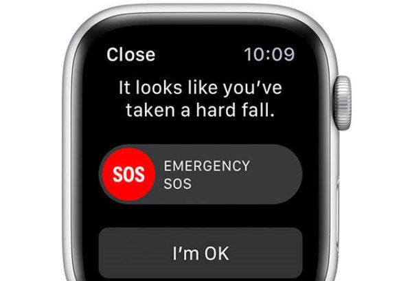 Сигнал SOS в Apple Watch
