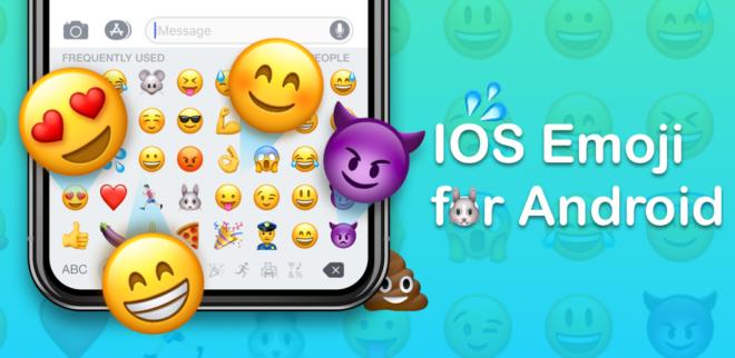 Установка на Android iPhone Emojis