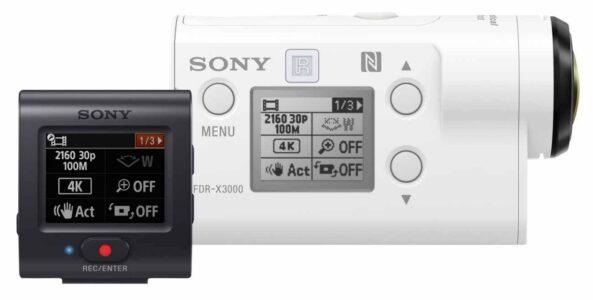 Настройка камеры Sony X3000