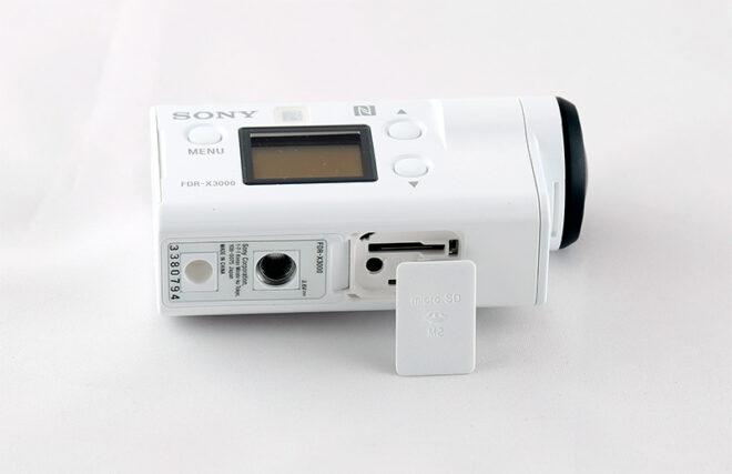 Настройка Sony FDR-X3000