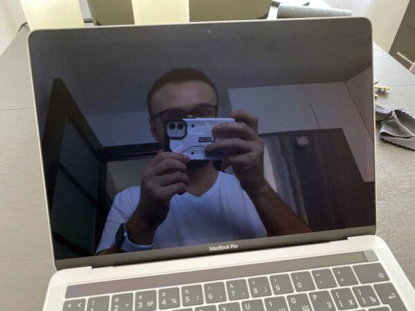 Фронтальная камера Mac распознание лица