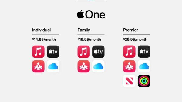 Apple One подписка