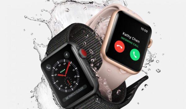 Apple Watch 3 перезагружаются на WatchOS 7