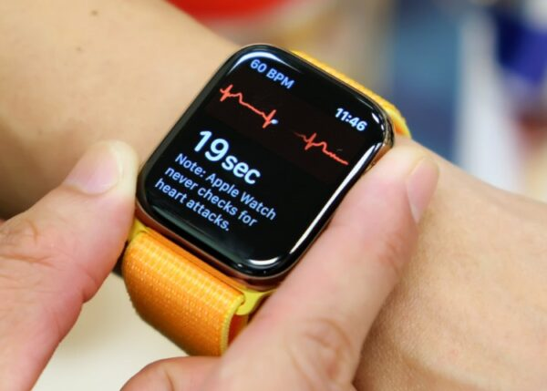 Apple Watch сможет определять уровень кислорода в крови