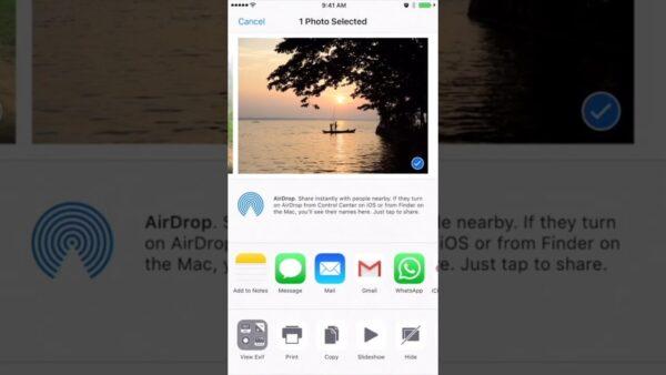 Как посмотреть EXIF на iPhone