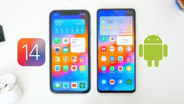 Android переходят в iOS 14