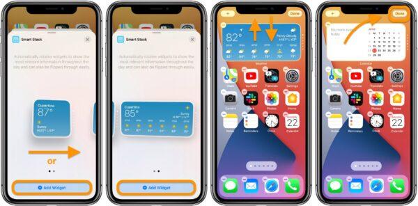 Как использовать новые виджеты iPhone в iOS 14