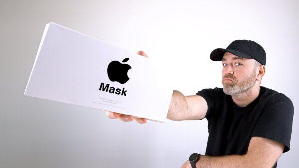 Защитная маска Apple Face Mask