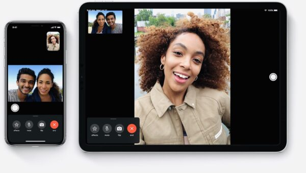 качество при звонке по FaceTime
