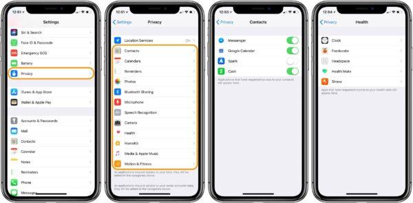 безопасности в iOS 14