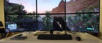 mac i 6 monitorov