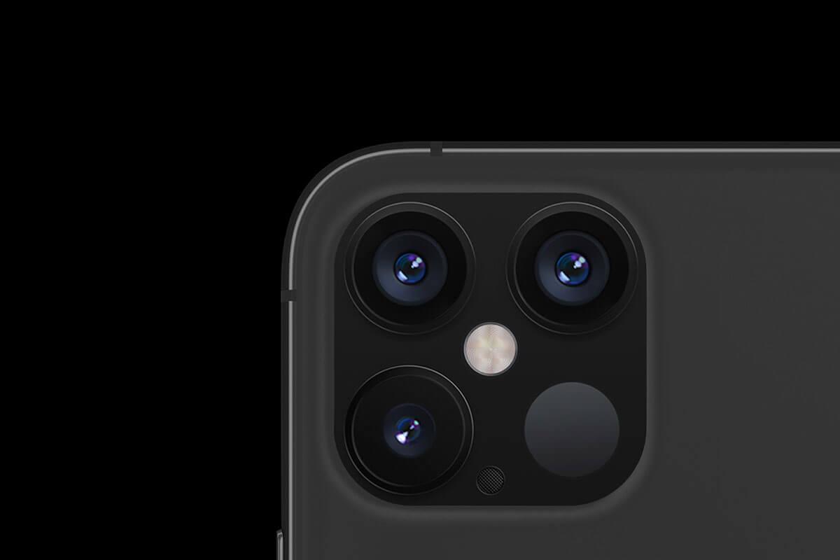 лидар в iPhone 12 Pro