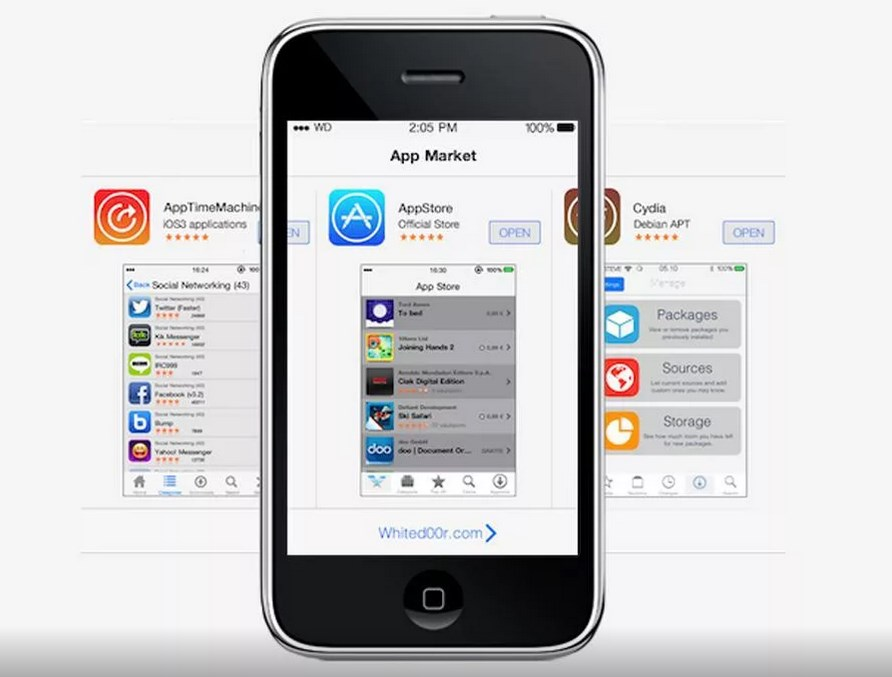 iPhoneOS 2 — с App Store и 3G